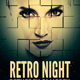 Retro Night Flyer Template - GraphicRiver Item for Sale