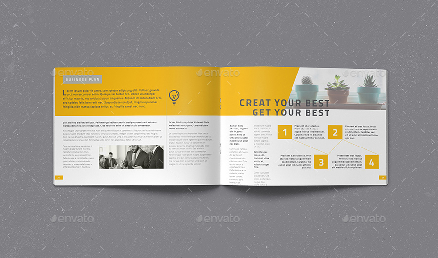 corporate brochure vol 2 landscape by fathurfateh graphicriver