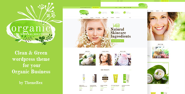 Organic Beauty Store & Natural Cosmetics - WooCommerce eCommerce