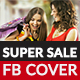 Super Sale Facebook Cover - GraphicRiver Item for Sale