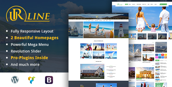 Urline – Creative WordPress Travel News And Magazine Theme