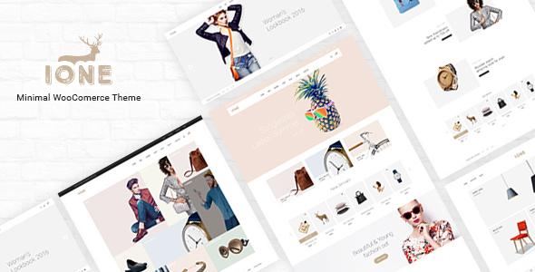 iOne – Minimal Responsive WooCommerce Theme
