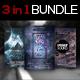 3 in 1 Sounds Flyer Bundle Vol. 2 - GraphicRiver Item for Sale