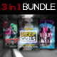 3 in 1 Girls Flyers Bundle Vol. 1 - GraphicRiver Item for Sale