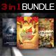 3 in 1 Autumn Flyer Bundle Vol. 1 - GraphicRiver Item for Sale