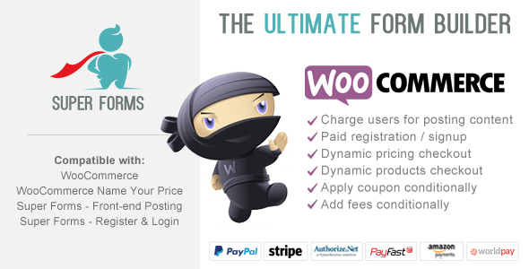 Super Forms - WooCommerce Checkout Add-on - CodeCanyon Item for Sale