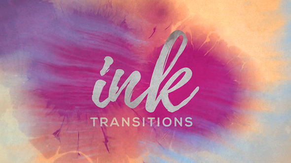 Videohive Ink Transitions for After effects & Premiere