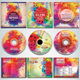 Colorful CD/DVD Album Covers Bundle Vol. 1 - GraphicRiver Item for Sale