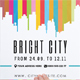 Bright City Poster Template - GraphicRiver Item for Sale