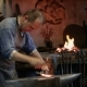 Artisan Blacksmith Working In The Forge - VideoHive Item for Sale