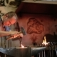 Blacksmith Forges On The Anvil, The Hot Metal - VideoHive Item for Sale