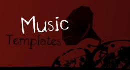 Flash Music Templates