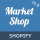MarketShop - Multi-Purpose Shopify Theme Nulled