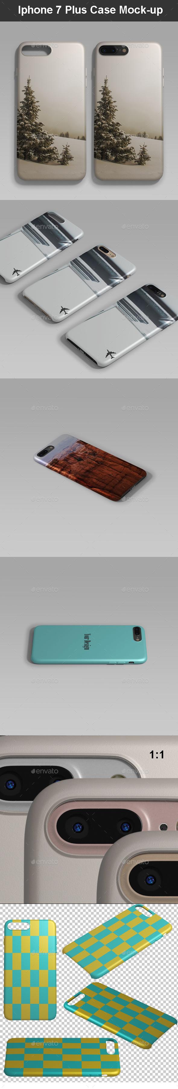 Phone 7 Plus Case Mock-up - Mobile Displays