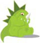 Baby Godzilla - GraphicRiver Item for Sale