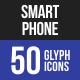 Smartphone Glyph Icons