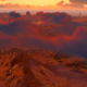 Sunrise - Flying Above The Clouds And Mountains - VideoHive Item for Sale