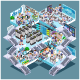 Isometric Cloud Datacenter Concept - GraphicRiver Item for Sale