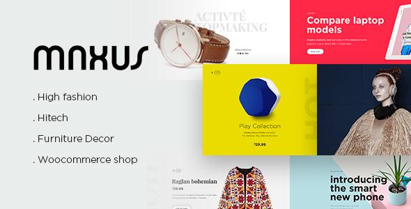 MAXUS – Modern eCommerce Multipurpose PSD
