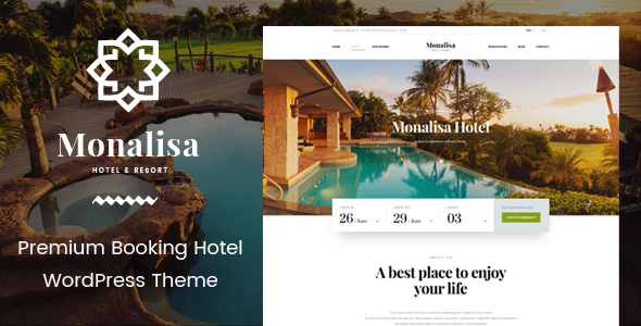 Monalisa – Hotel & Resort Management WordPress Theme