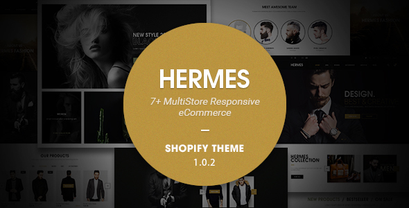 Hermes - Multi Store Responsive Shopify Theme - Shopify eCommerce