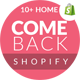 Comeback - Advanced Shopify Theme Option | Drag and Drop Page Builders - ThemeForest Item for Sale