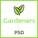 Gardeners - ThemeForest Item for Sale