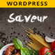 Saveur - Food & Restaurant WordPress - ThemeForest Item for Sale