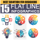 Set of Flat Line Business Infographic - GraphicRiver Item for Sale