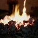 Burning Flame In The Fireplace - VideoHive Item for Sale