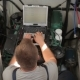 Repairer Performs Diagnostics of The Yacht Engine - VideoHive Item for Sale