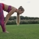 Beautiful Woman Performing The Down Dog Yoga Pose - VideoHive Item for Sale