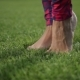 Beautiful Legs Doing Tiptoes Feet Warm-up Exercise - VideoHive Item for Sale