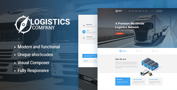 Logistics / Transportation / Warehousing Theme - Business Corporate