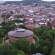 Aerial Old City Lviv, Cytadel Ukraine - VideoHive Item for Sale