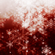Christmas Red Snow Flakes - VideoHive Item for Sale