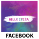 Hello Ibiza Club Event Facebook Cover and Post Banners - GraphicRiver Item for Sale
