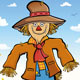 Happy Scarecrow - GraphicRiver Item for Sale