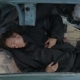 Homeless Man Sleeping In The Car Without a Roof - VideoHive Item for Sale