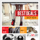 Product Sale Promotion Poster Template V04 - GraphicRiver Item for Sale