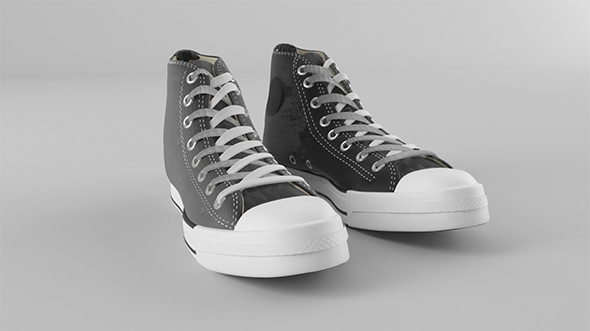 Classic sneakers - 3DOcean Item for Sale