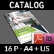 Products Catalogs Brochure Template Vol.4 - 16 Pages