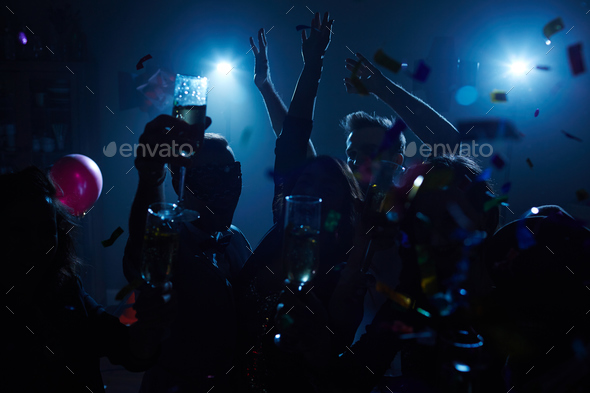 Booze and fun - Stock Photo - Images