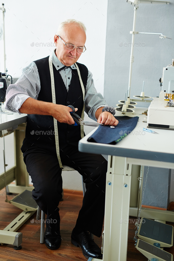 Work of tailor - Stock Photo - Images