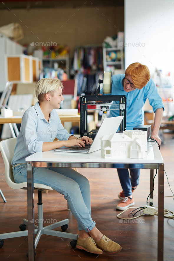 Creative people at work - Stock Photo - Images