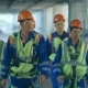 Workers And Engineers, Walking On Industrial Factory. - VideoHive Item for Sale