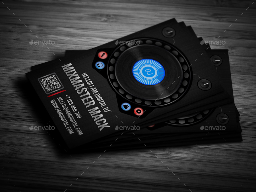 Digital dj business card by vinyljunkie graphicriver digital dj business card industry specific business cards 01previewg 02previewg 03previewg 04previewg reheart Choice Image