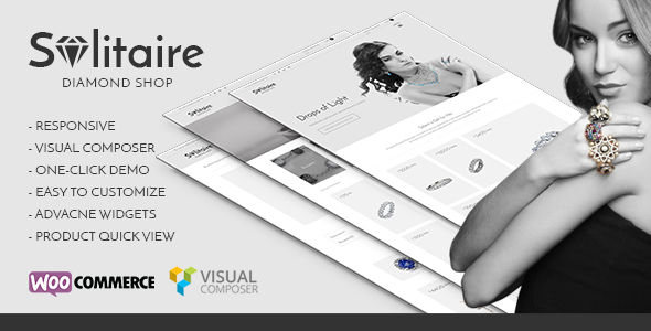 Solitaire – Single Product Range WooCommerce Theme