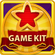 Golden Slots Game Kit - GraphicRiver Item for Sale