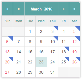 Tiva Events Calendar by tiva_theme | CodeCanyon